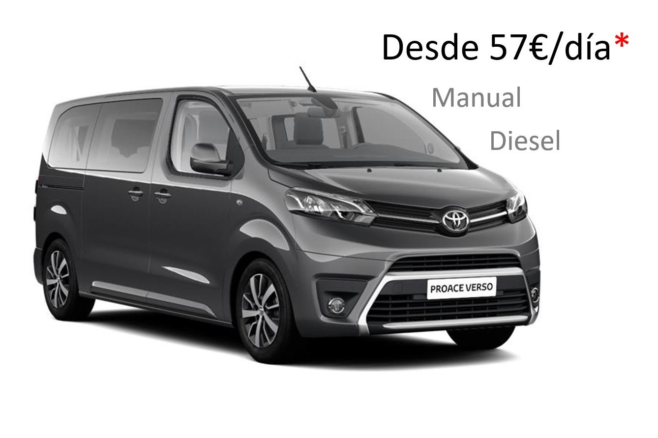 Toyota Proace renting Galicia