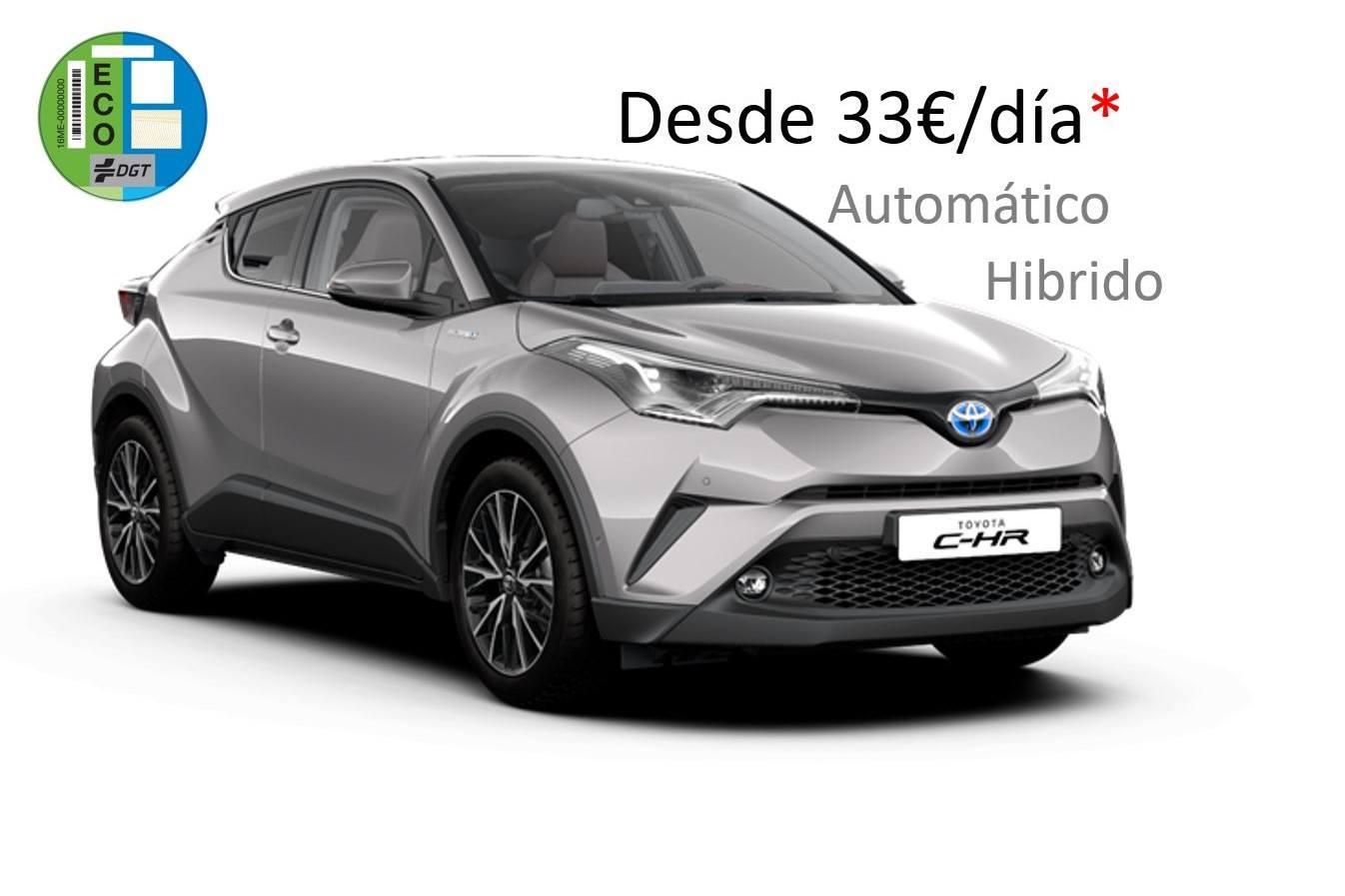 Toyota C-HR renting Galicia
