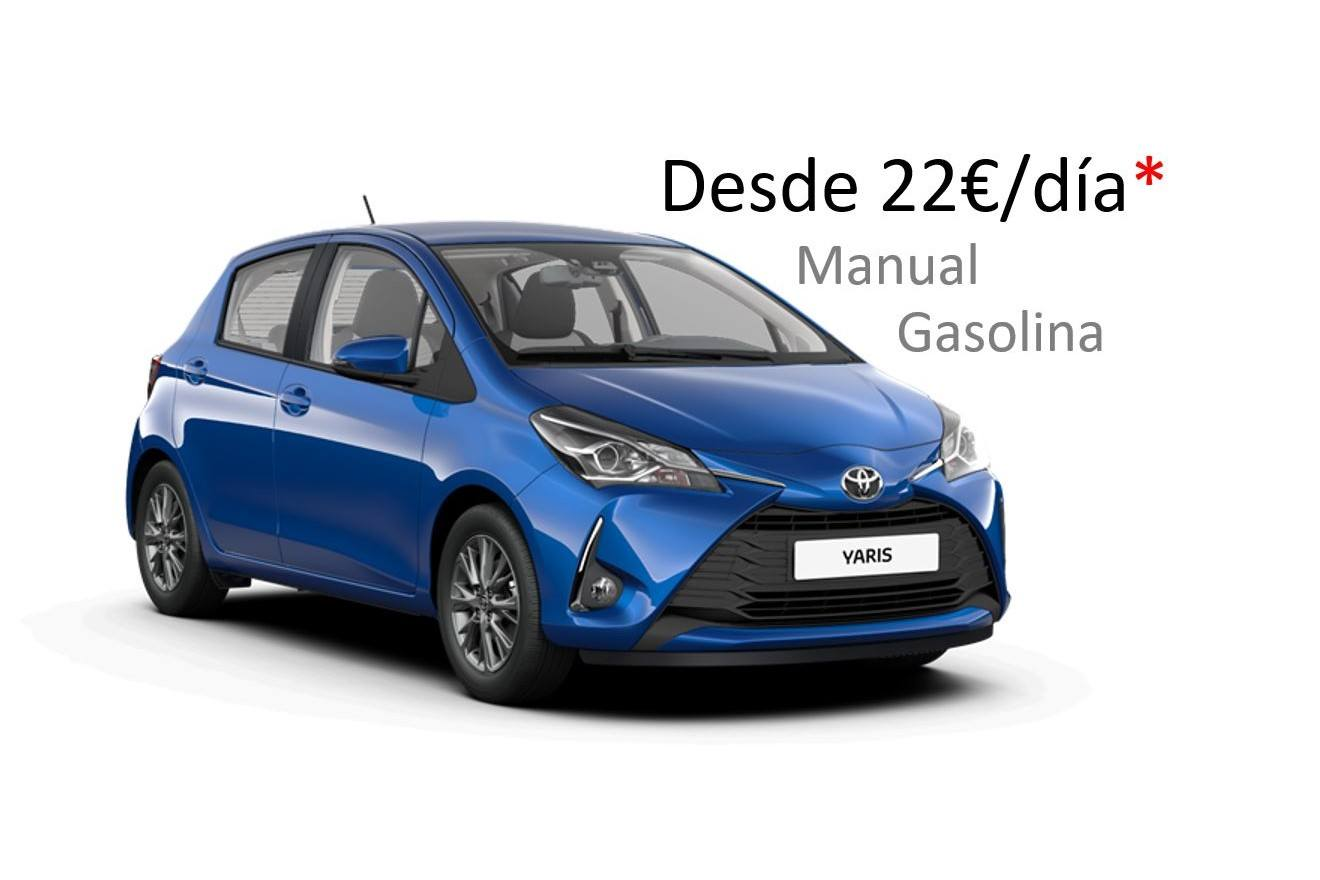 Toyota Yaris renting Galicia