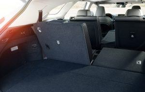 Gran capacidad del maletero del Lexus RX L