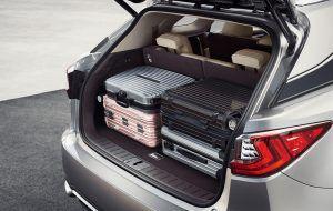 Maletero con gran capacidad del Lexus RX L