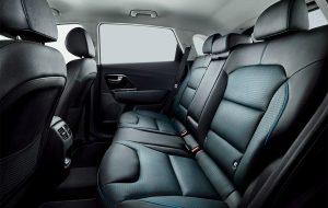 Interior del Kia Niro eléctrico