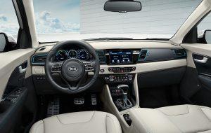 Interior premium del Kia Niro PHEV