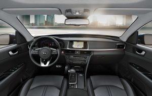 Interior de calidad del Nuevo Kia Optima SW automático