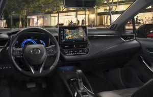 Interior del nuevo Toyota Corolla Hybrid