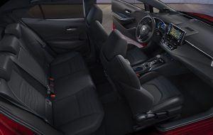 Visión interior del nuevo Toyota Corolla Hatchback 2019