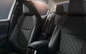Asientos deportivos del nuevo Toyota Corolla Sedan 2019