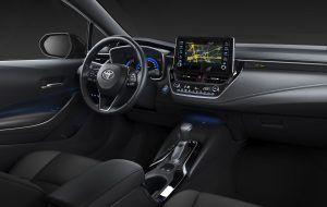 Interior del nuevo Toyota Corolla Touring Sports