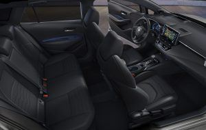 Asientos de cuero en el nuevo Toyota Touring Sports