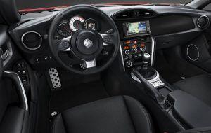 Interior del Toyota GT86
