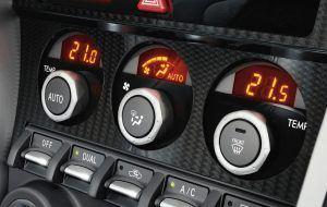Detalles del interior Toyota GT86
