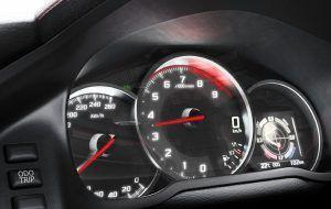 Salpicadero y cuentakilómetros del Toyota GT86