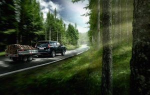 Capacidad del Toyota Land Cruiser para transportar objetos.