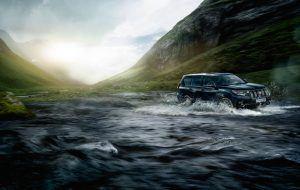 Capacidad todoterreno del Toyota Land Cruiser
