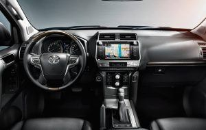 Interior del Toyota Land Cruiser