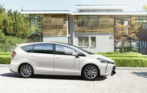 El Toyota Prius plus en casa en A Coruña