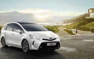 Toyota Prius Plus perfecto para viajar en familia