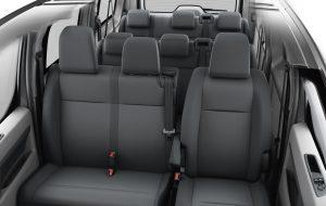 Asientos de Toyota Proace 7 plazas