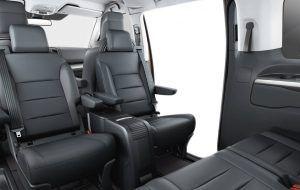 Toyota Proace Verso con asientos invertidos