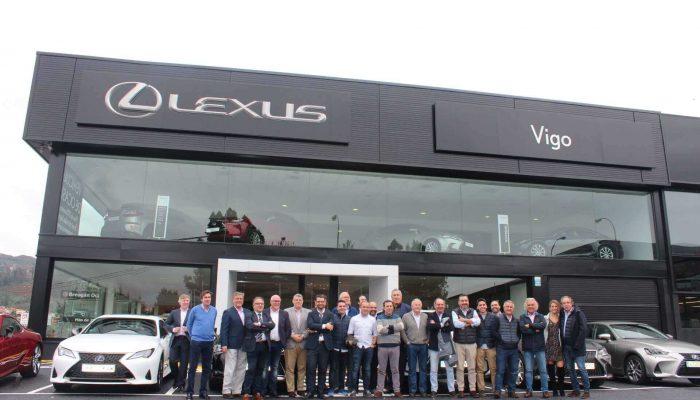 Presentación del nuevo centro de Lexus del equipo Breogán a prensa