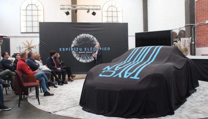 Presentación del nuevo Taycan en el Centro Porsche de A Coruña