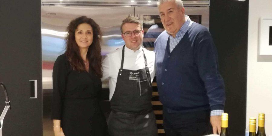 Showcooking del prestigioso chef internacional Santi Fernández en Breogán Xperience