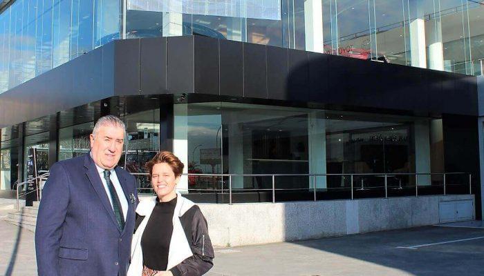 Visita de la nueva directora de Lexus España