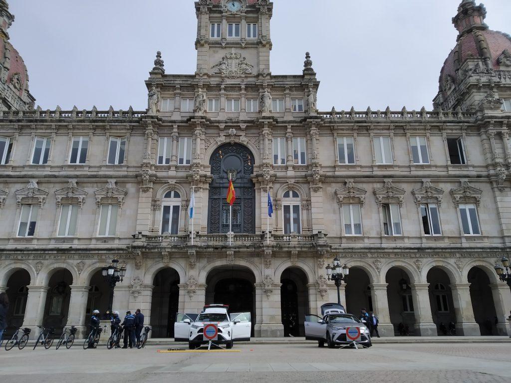 Entrega flotas Toyota al Ayuntamiento de A Coruña