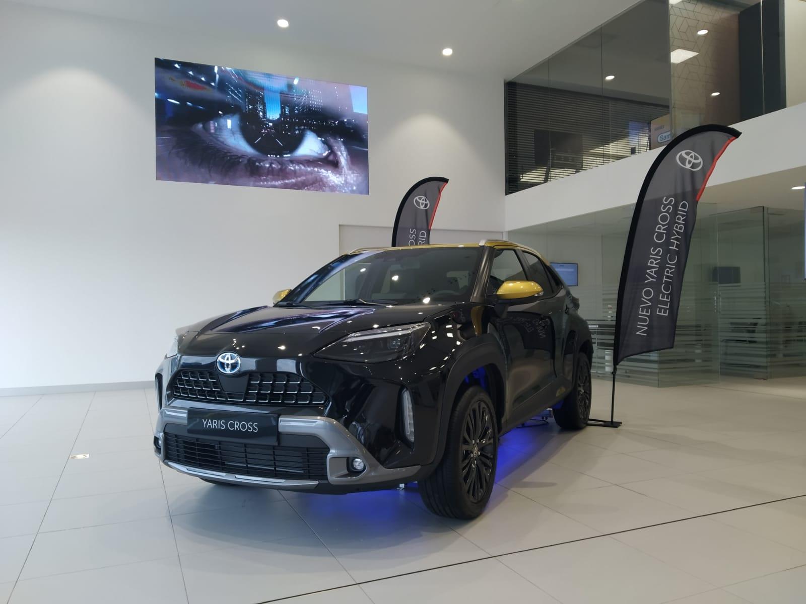 El nuevo Yaris Cross en las instalaciones de Toyota Breogán A Coruña