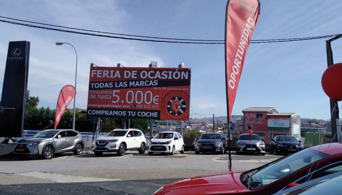 Gran Semana del vehículo de Ocasión en Breogán Ocasión Vigo
