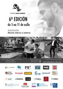 Cartel de la VI Edición del Campus Álex Llorca