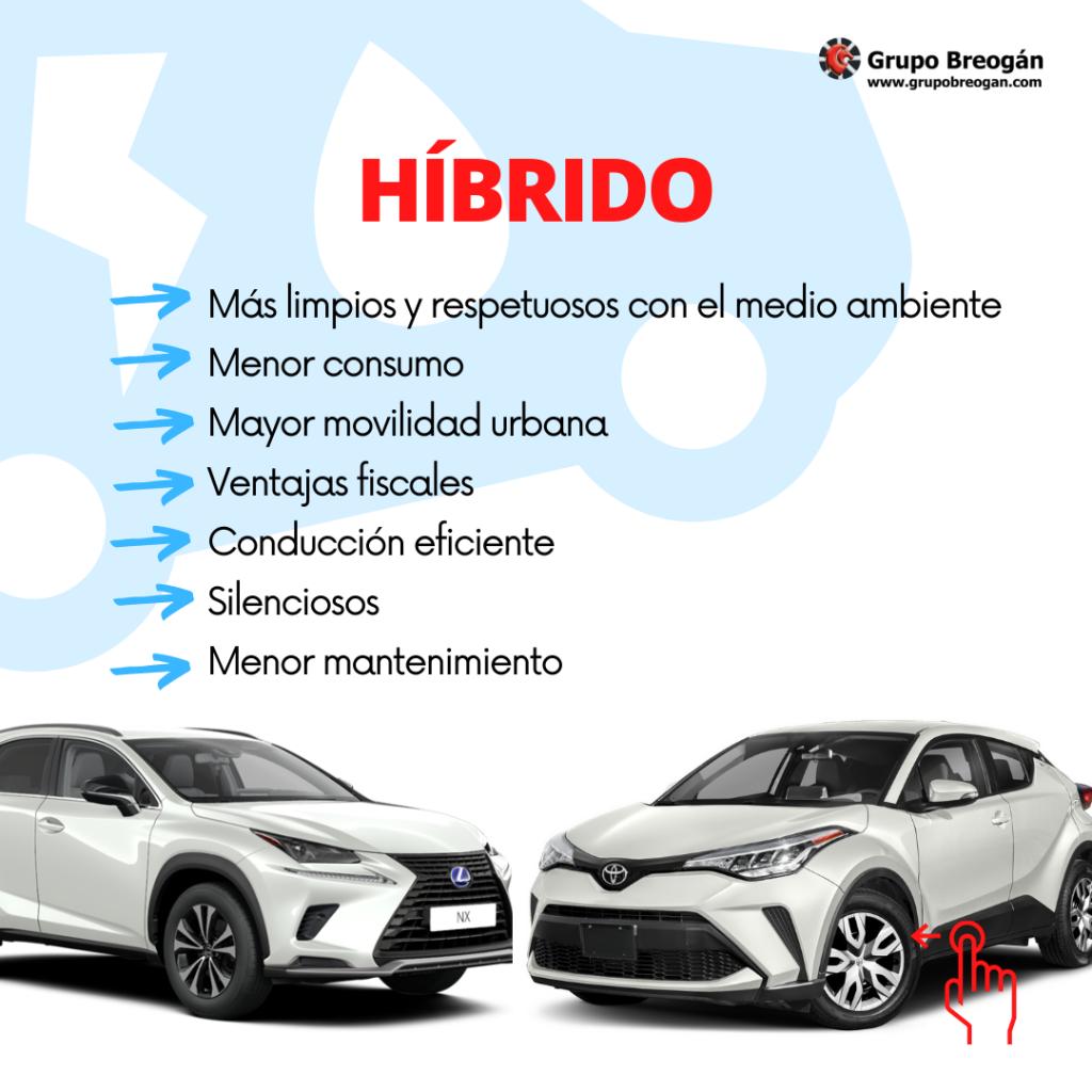Ventajas de los coches híbridos
