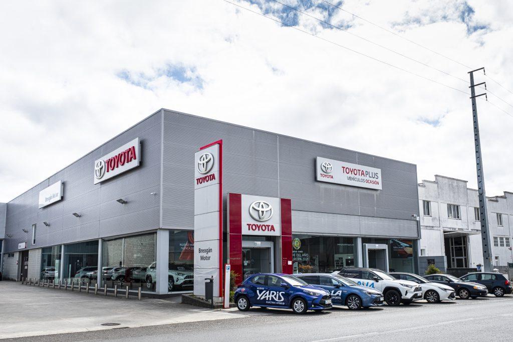 Instalaciones de Toyota Breogán Motor, donde se celebrará Berocasión, feria de coches de ocasión en Carballo